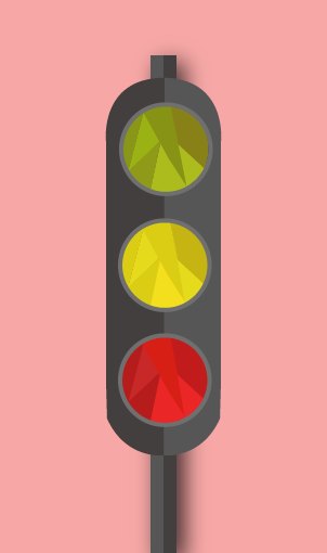 Inverted Traffic Lights